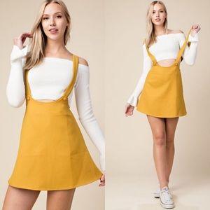 Last one! Skirt Overalls